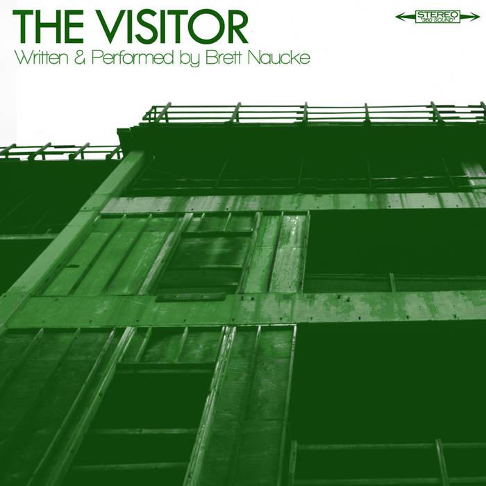 """BRETT NAUCKE """"The Visitor"""" (Nihil 77) cover art"""