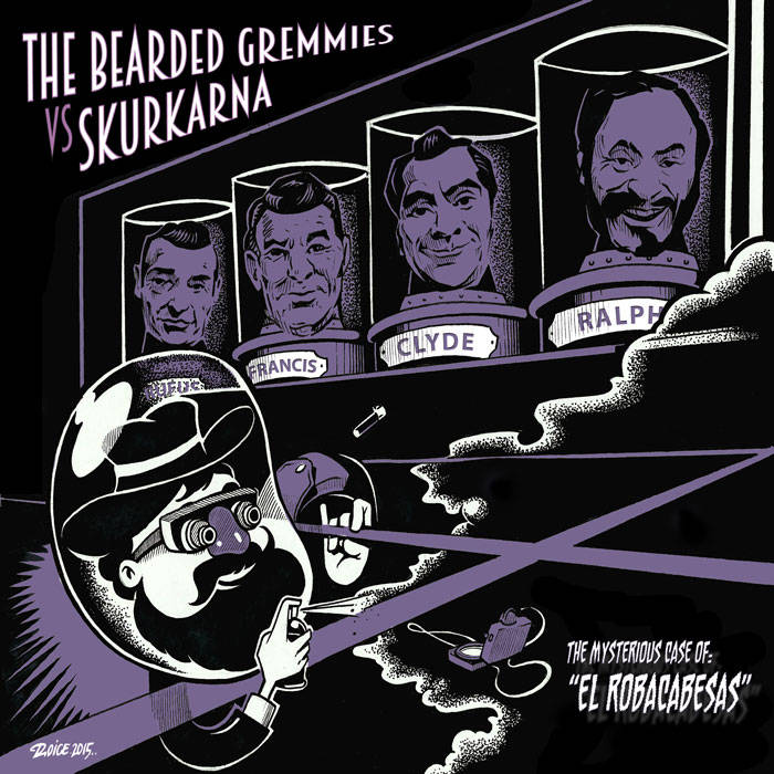 "The Mysterious Case Of ""El Robacabesas"" (7"") cover art"