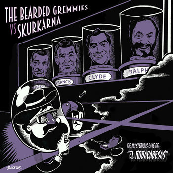 """The Mysterious Case Of """"El Robacabesas"""" (7"""") cover art"""