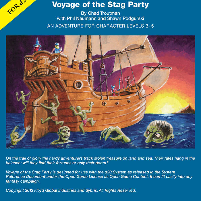 Voyage of the Stag Party cover art