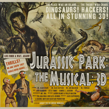 Jurassic Park: The Musical: 3D: The Cast Recording cover art