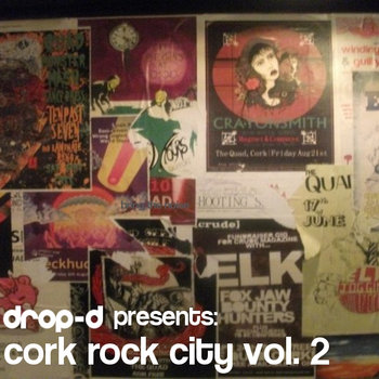 Drop-d: Cork Rock City Vol.2 cover art