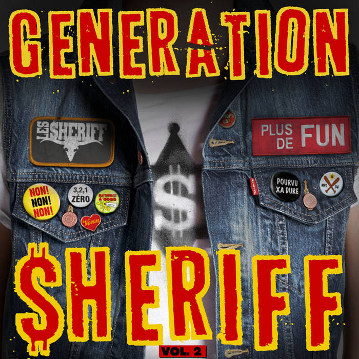 GENERATION $HERIFF Vol. 2 cover art