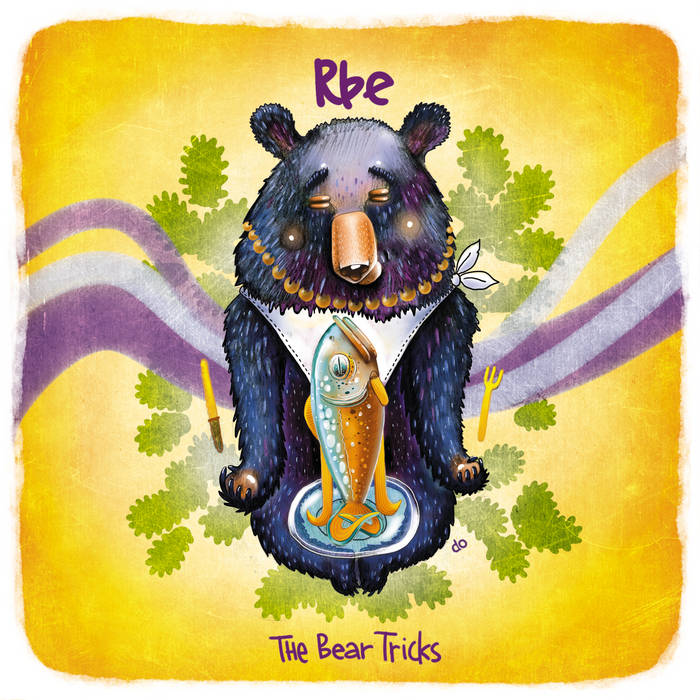 The Bear Tricks (LP) cover art