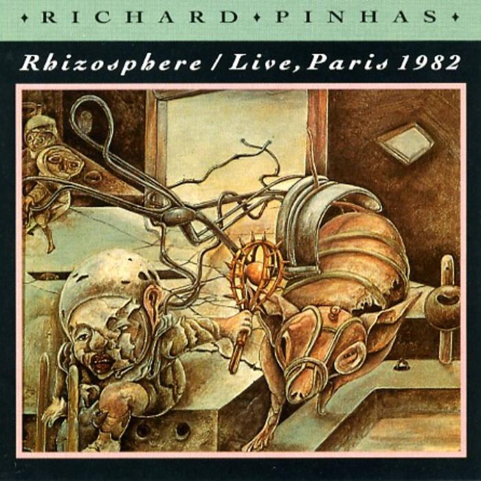 Rhizosphere / Live, Paris 1982 cover art