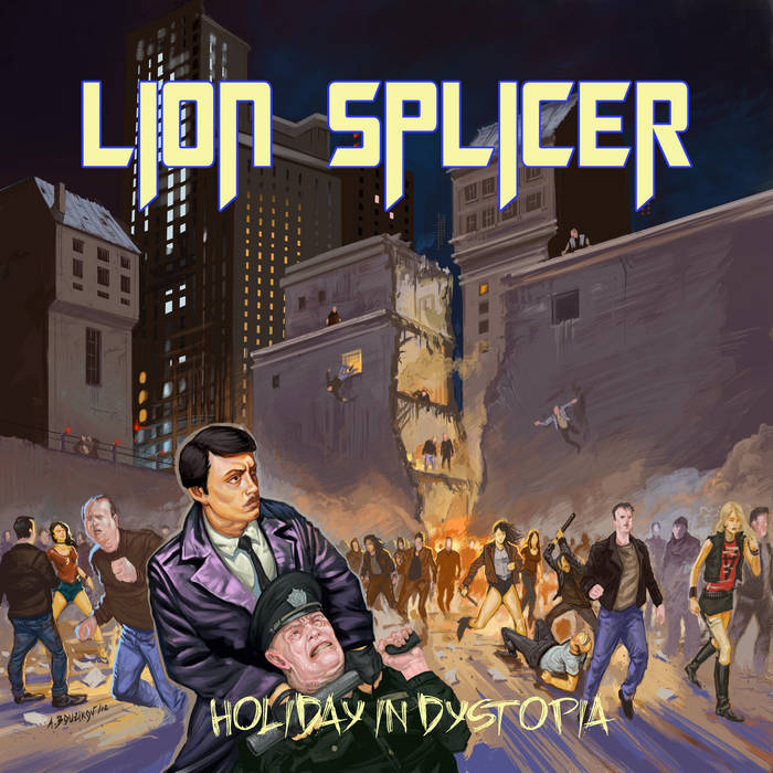 Holiday in Dystopia cover art