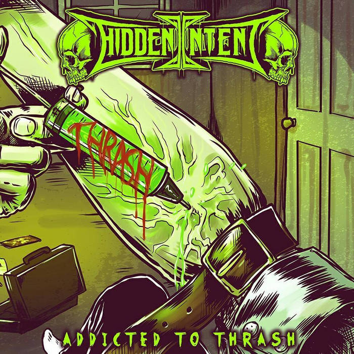 Addicted to Thrash (single) cover art