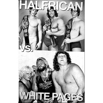 HALFRICAN VS WHITE PAGES SPLIT cover art