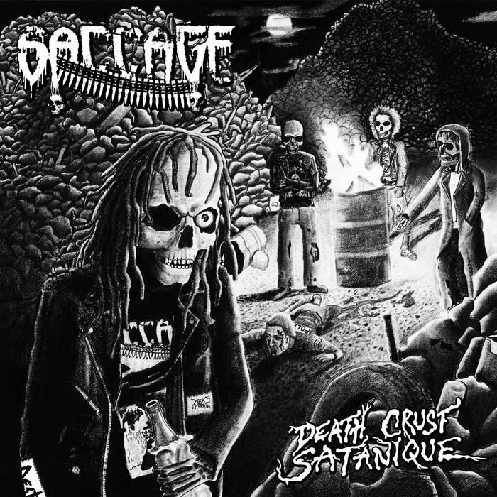 Death Crust Satanique /  Full-length cover art