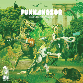 Mixtape FUNKANOZOR The Ultimate vol.3 cover art