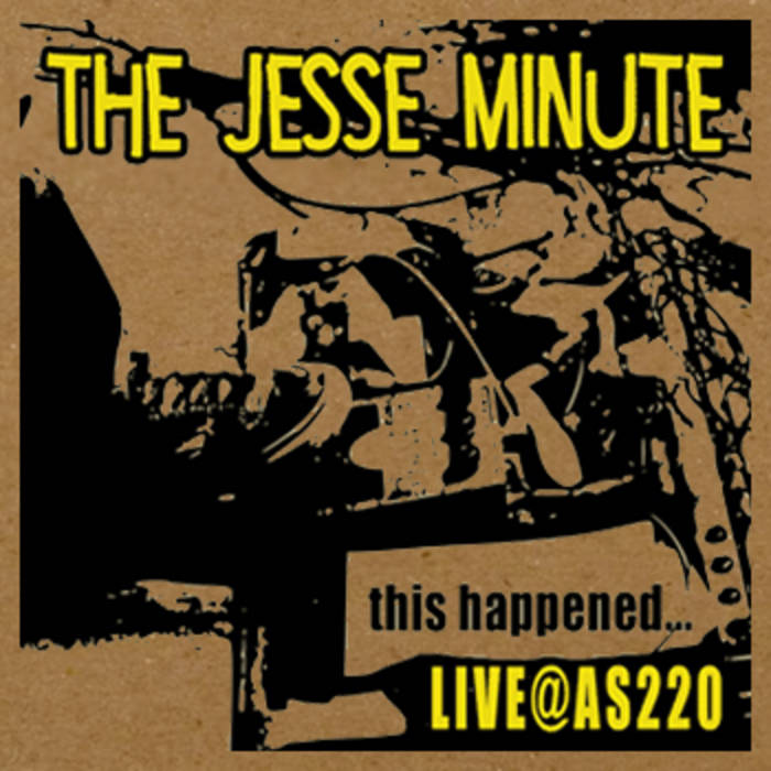 this happened...LIVE at AS220 cover art