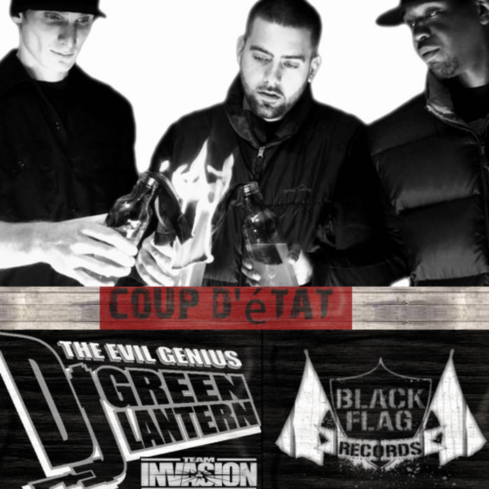 DJ GREEN LANTERN PRESENTS Coup d'état cover art