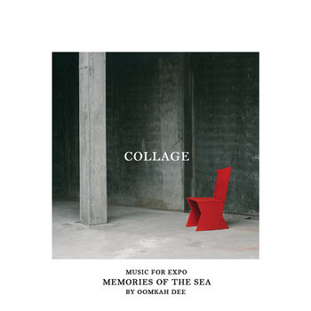 """Collage: Music for Expo """"Memories of the Sea"""" cover art"""