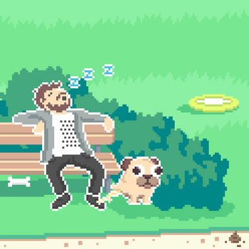 Butt Sniffin Pugs OST cover art