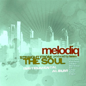 "Melodiq ""Straight From The Soul"" (Instrumental album) cover art"