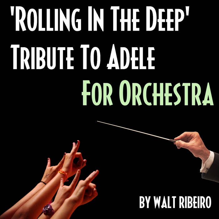 Adele 'Rolling In The Deep' cover art