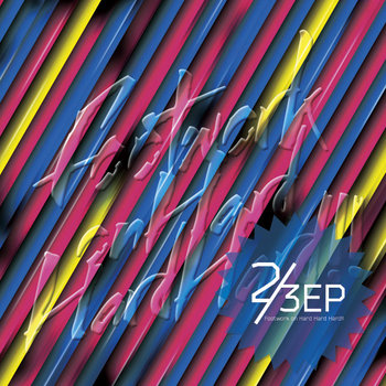 Footwork on Hard Hard Hard!! 2/3EP cover art