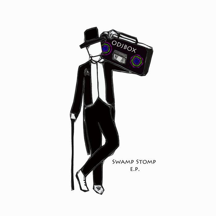 Swamp Stomp E.P. cover art