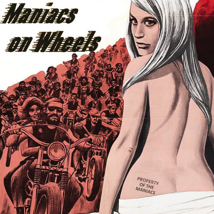 Maniacs On Wheels cover art