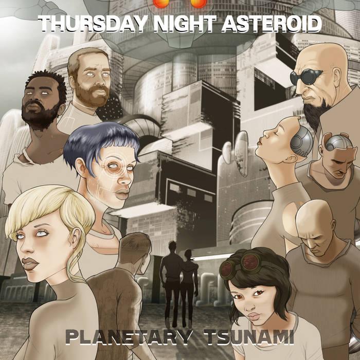 Planetary Tsunami cover art