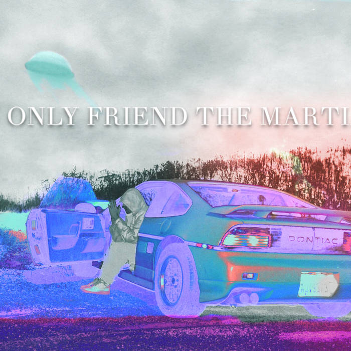 My Only Friend The Martian cover art