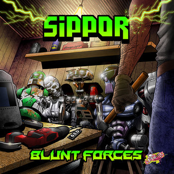 Blunt Forces EP cover art