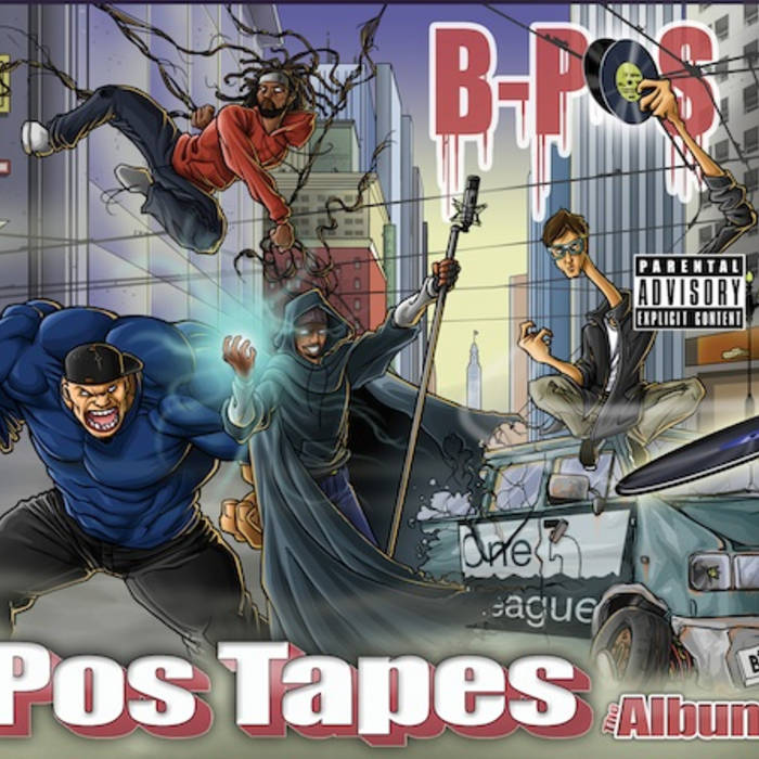 Pos Tapes the Album cover art