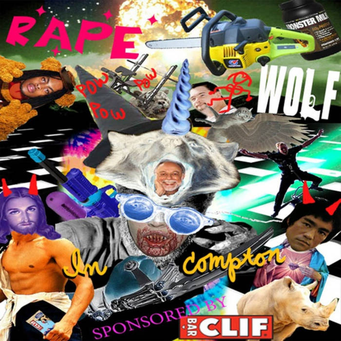 Rape Wolf In Compton cover art