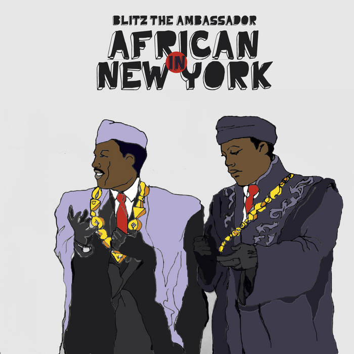 African in New York cover art