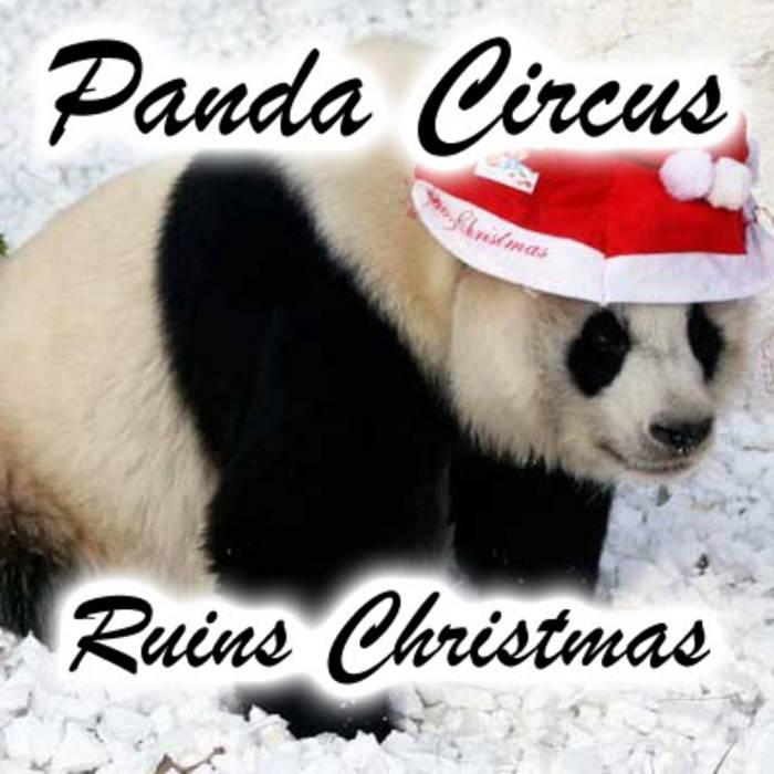Panda Circus Ruins Christmas cover art