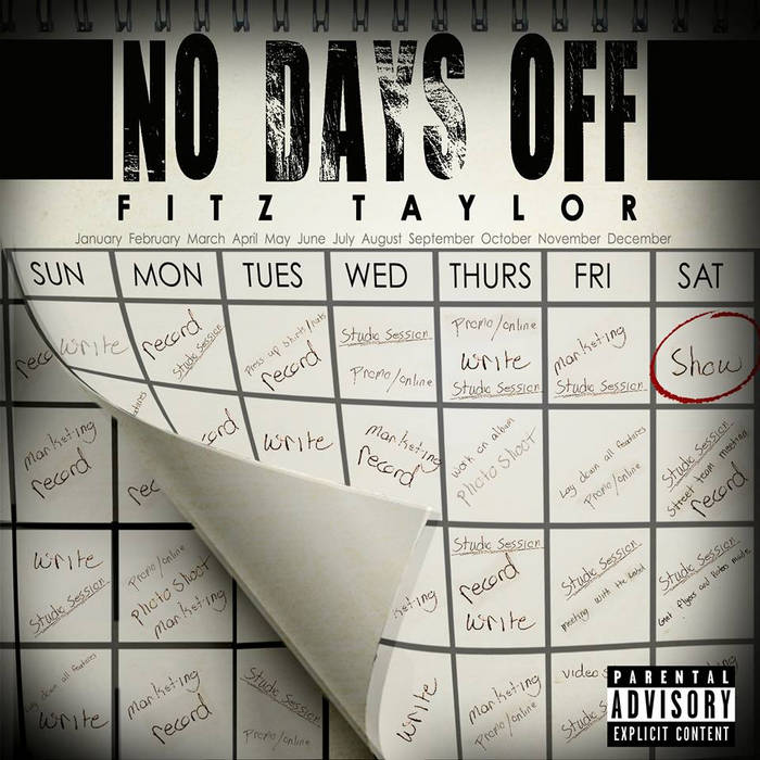NO DAYS OFF cover art