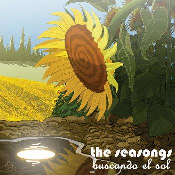 Buscando el sol (anticipo LP) cover art