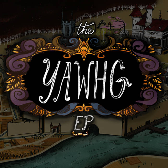 The Yawhg EP cover art