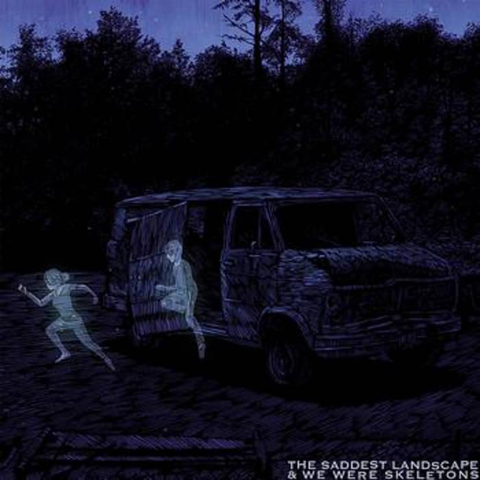 The Saddest Landscape split cover art