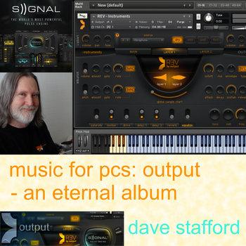 music for pcs: output - an eternal album cover art