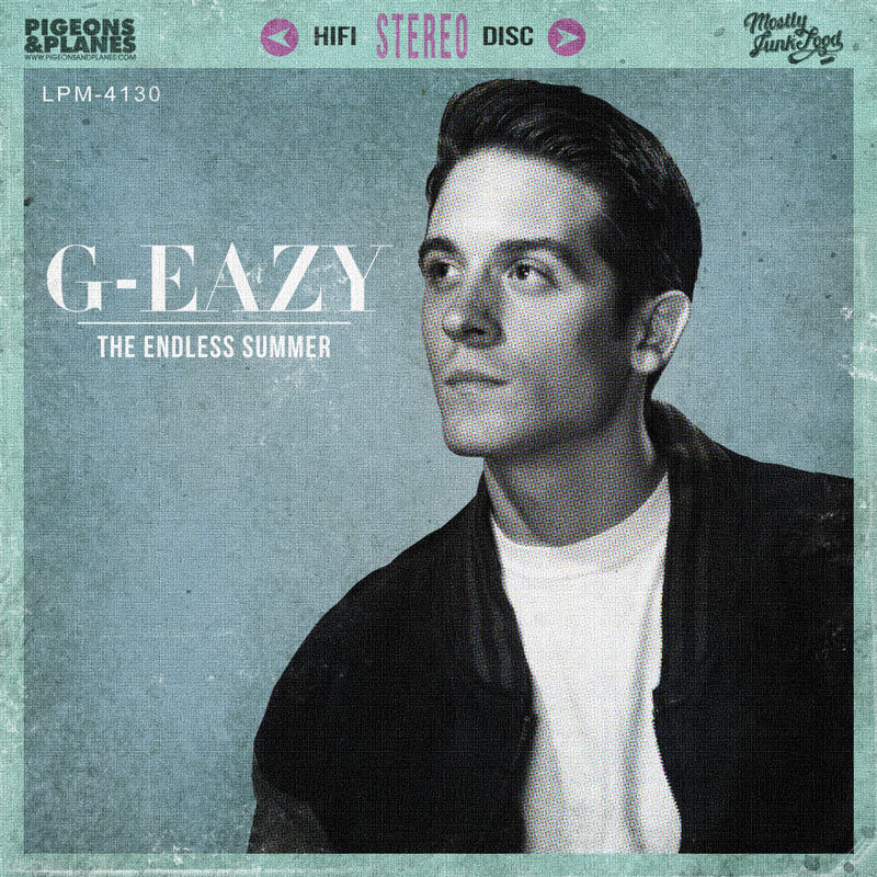 The Endless Summer cover art  G Eazy Endless Summer
