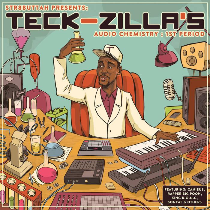 Teck-Zilla's Audio Chemistry: 1st Period cover art