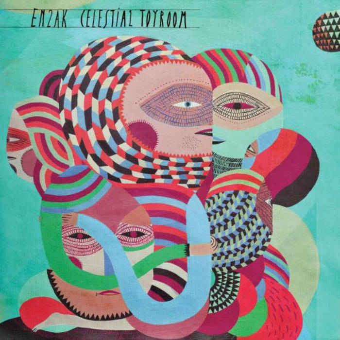 en2ak - Celestial Toyroom LP cover art