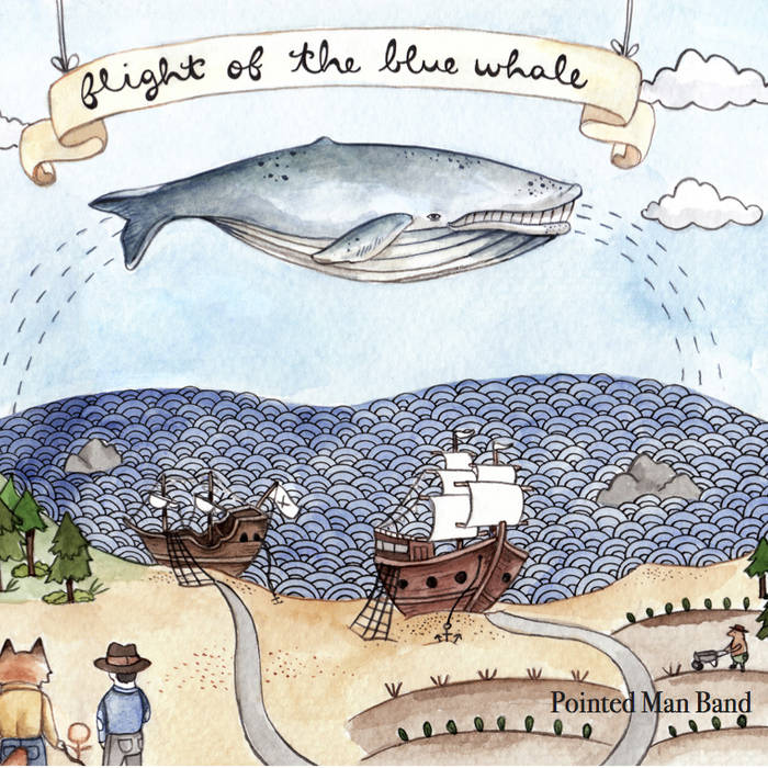 Flight of the Blue Whale cover art