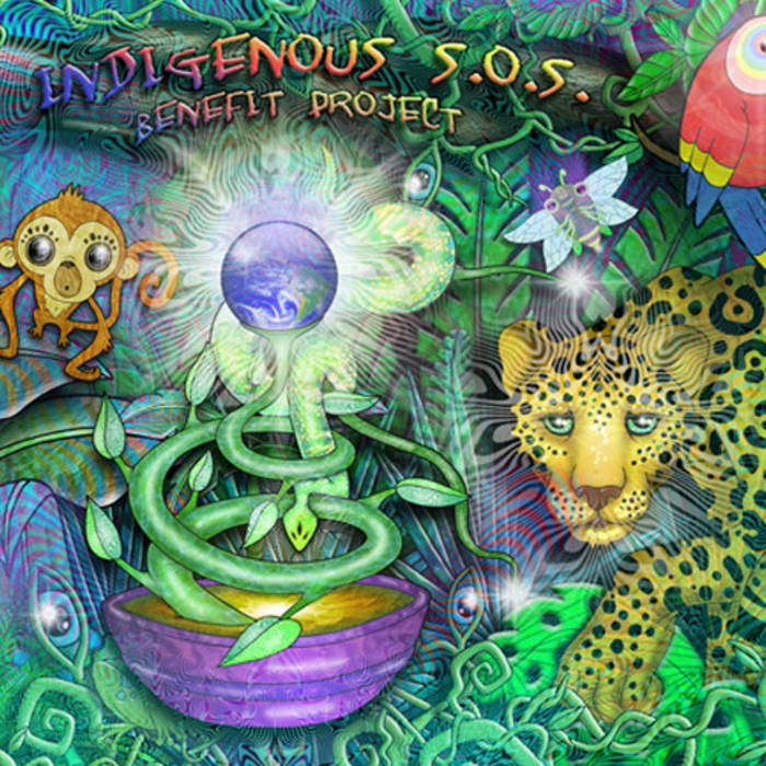 Indigenous S.O.S. benefit project cover art