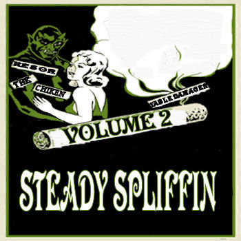 Steady Spliffin Vol 2 cover art