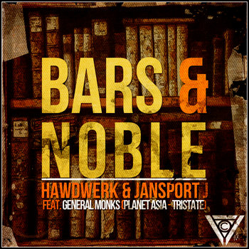 Bars & Noble feat. General Monks (Planet Asia & TriState) cover art