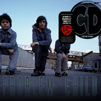"'PROBLEM CHILD + FEEL THAT' 12"" VLS cover art"