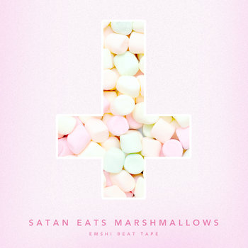 SATAN EATS MARSHMALLOWS cover art