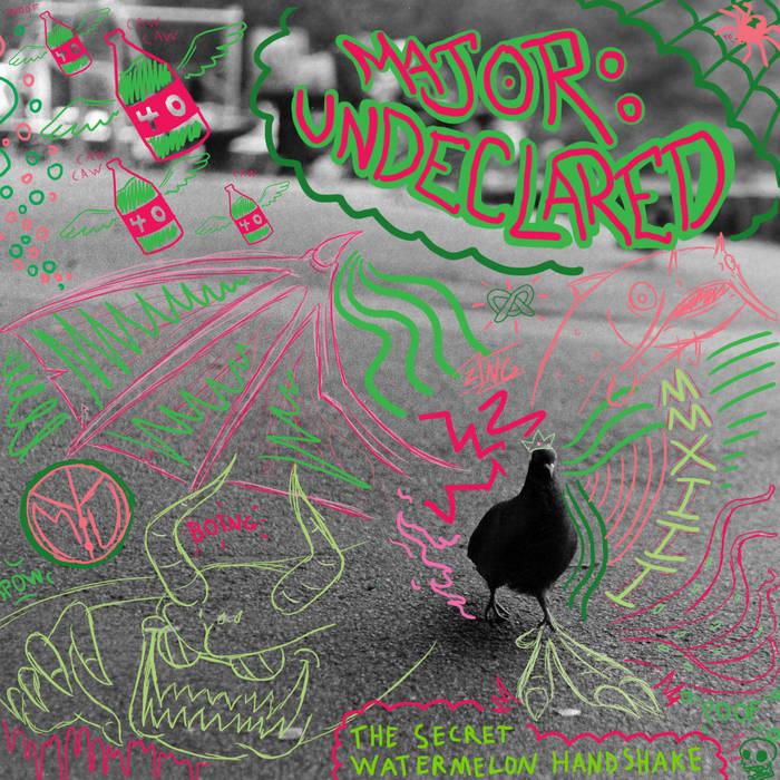 The Secret Watermelon Handshake EP cover art