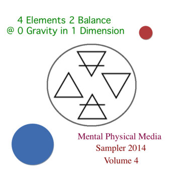 4 Elements 2 Balance @ 0 Gravity in 1 Dimension cover art