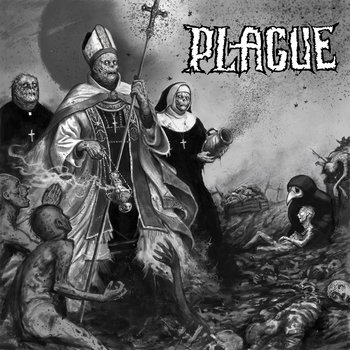 "Plague 7""EP cover art"