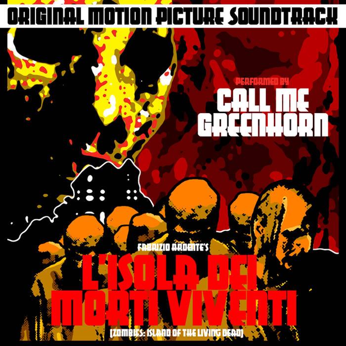 """""""L'Isola dei Morti Viventi"""" OST cover art"""