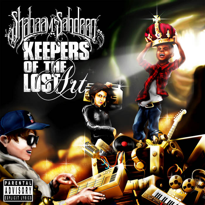 Keepers Of The Lost Art cover art