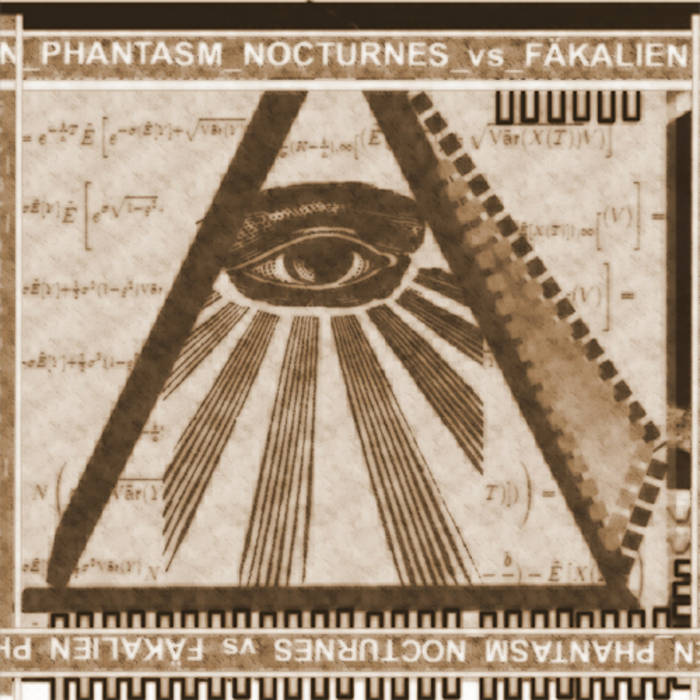 Fäkalien / Phantasm Nocturnes - Split cover art